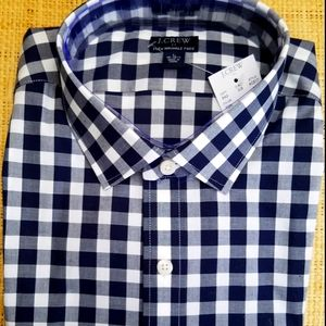 "New Men's ""J CREW"" Check Shirt"